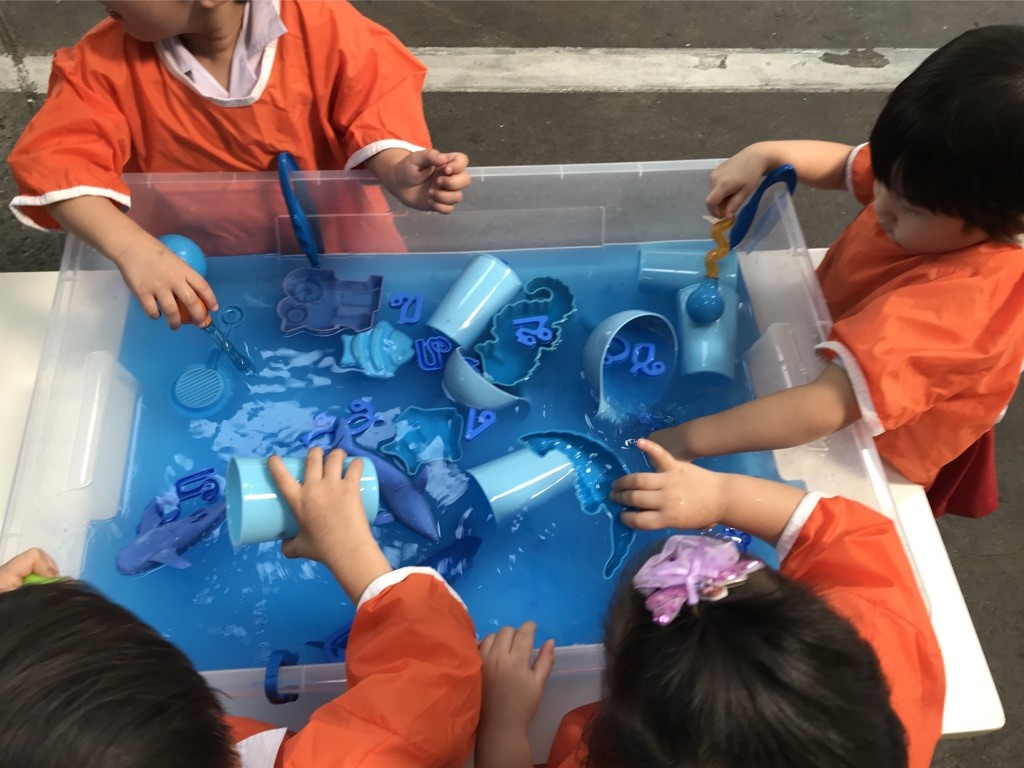 Sensory Play: Colours and Shapes