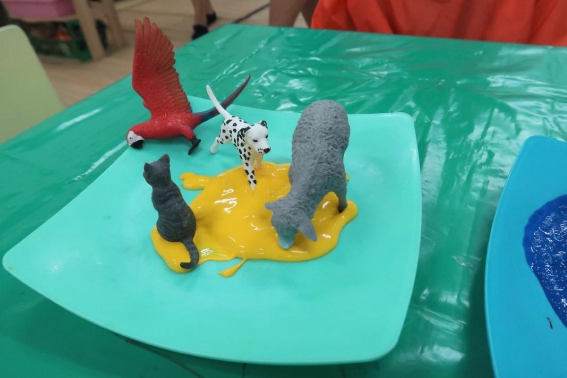 Process Art หน่วยสัตว์เลี้ยง