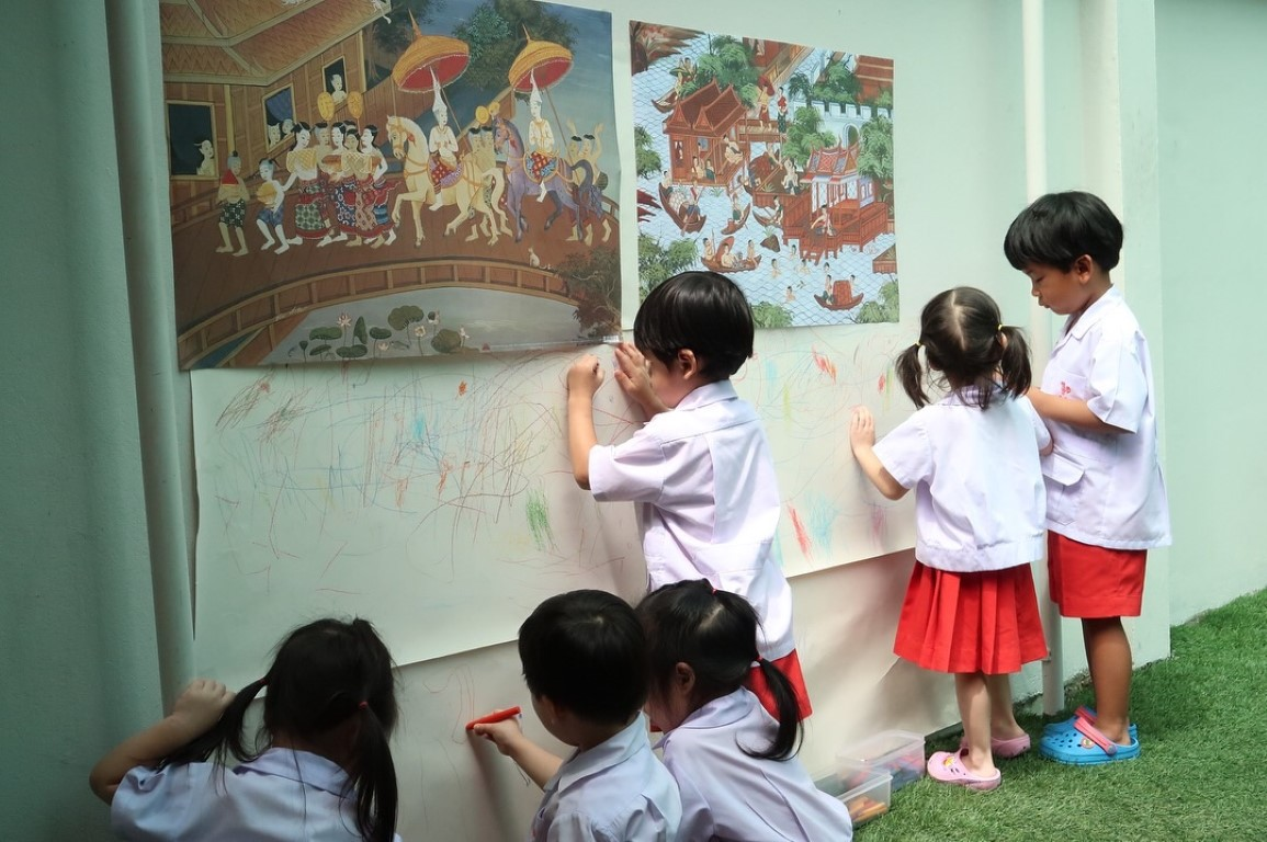 Process Art หน่วยฉันเป็นคนไทย
