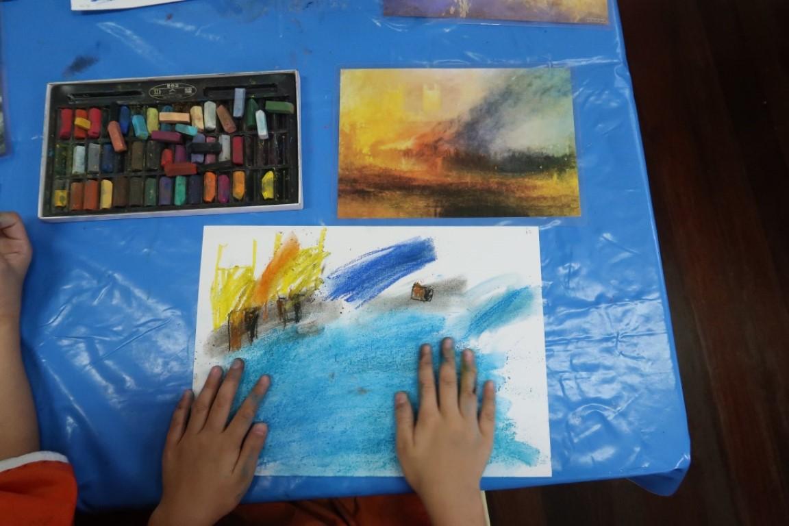 Process Art J.W.M Turner