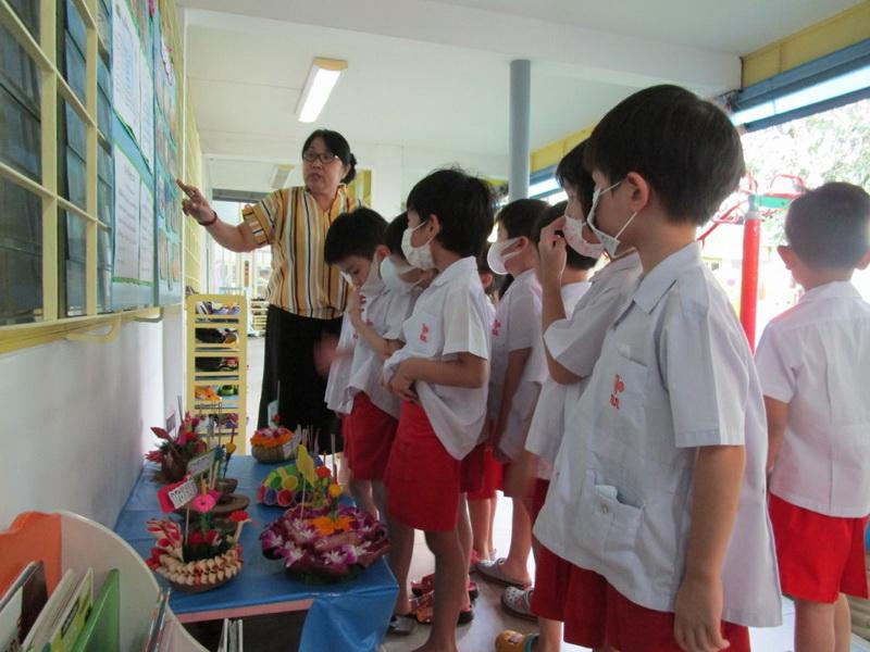 กิจกรรมวันลอยกระทง ชั้นอนุบาลปีที่ 3 ปีการศึกษา 2562