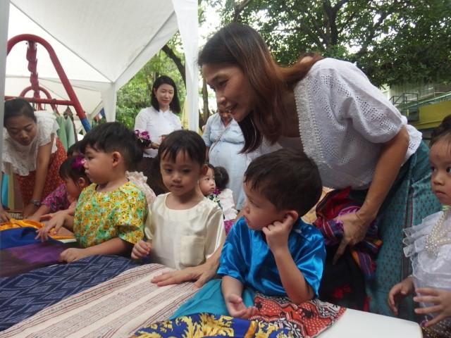 นิทรรศการของดีดีในเมืองไทย ชั้นเตรียมอนุบาล