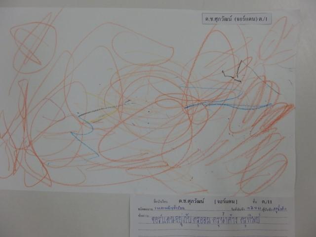 ผลงานของเด็กหน่วยโรงเรียนอนุบาลกุ๊กไก่ของฉัน ชั้นเตรียมอนุบาล/1