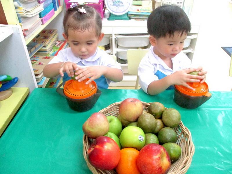 หน่วยผักและผลไม้
