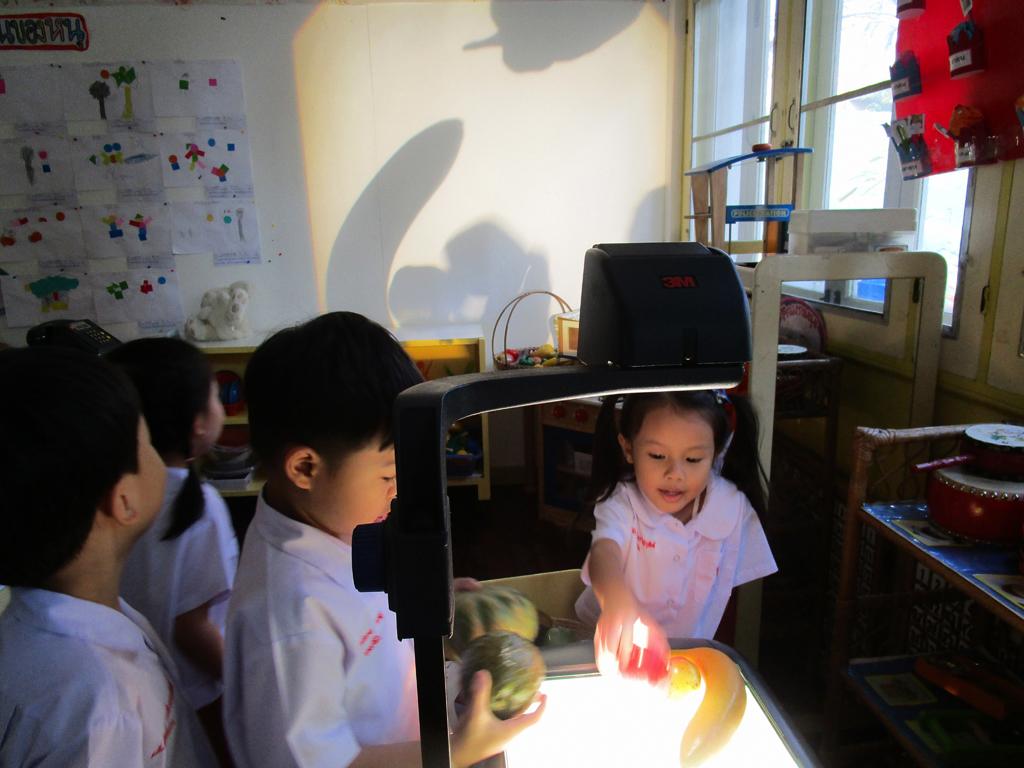 หน่วย แสงและเงา ชั้นอนุบาลปีที่ 2