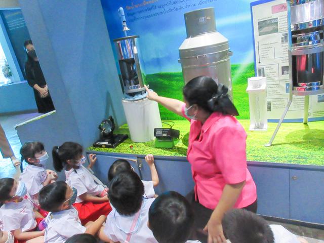 ทัศนศึกษา พิพิธภัณฑ์การเรียนรู้ กรมอุตุนิยมวิทยา