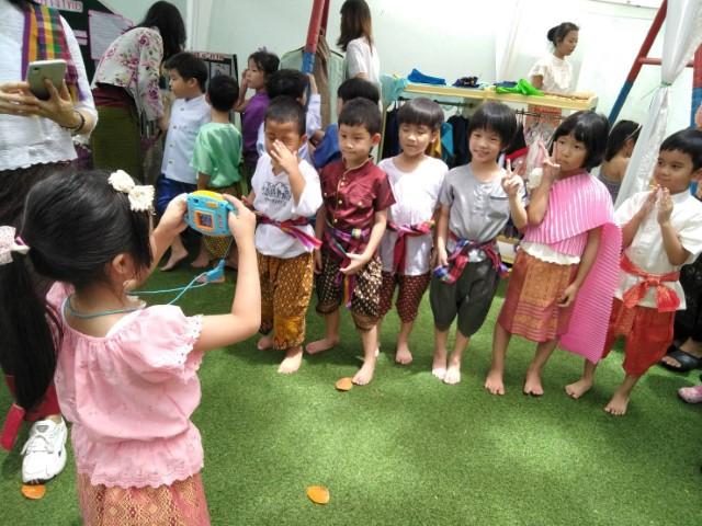 นิทรรศการ ของดีดีในเมืองไทย ชั้นอนุบาลปีที่ 3