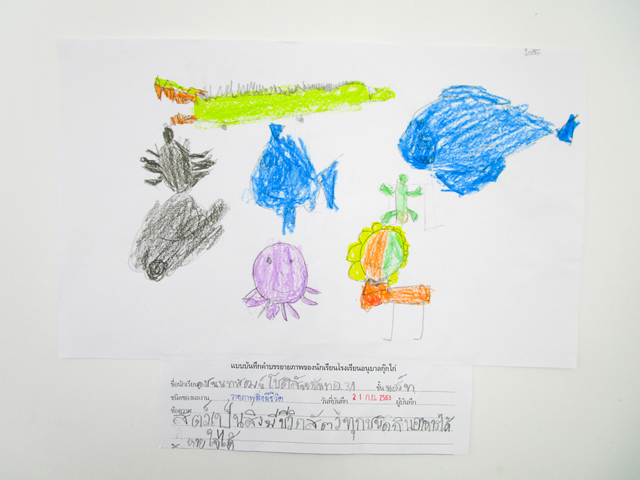 Living-Things Student's Work 3/1