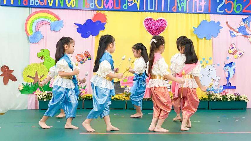 การแสดงรำไทย ชั้นอนุบาลปีที่ 3