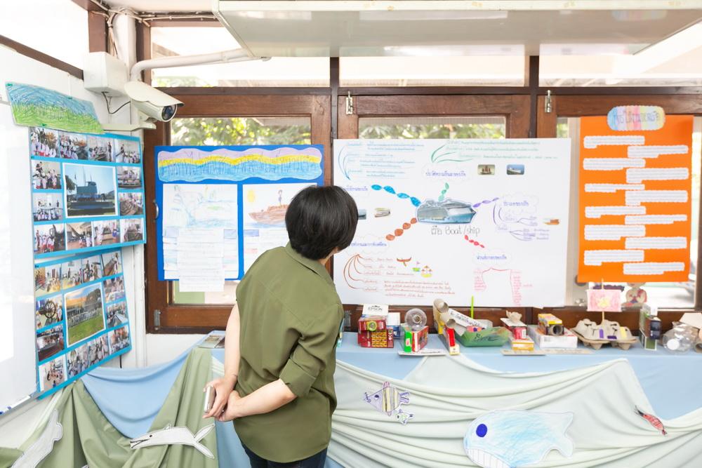 นิทรรศการ Project Approach เรื่องเรือ