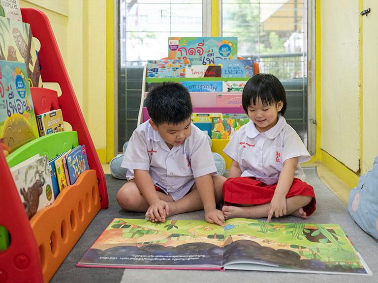 การเรียนการสอนโรงเรียนอนุบาลกุ๊กไก่