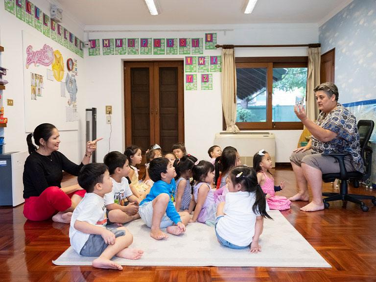 English Program at Kukai Kindergarten