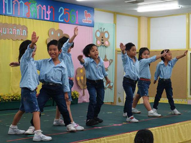 การแสดงของนักเรียน
