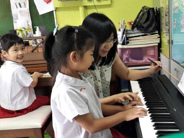 กิจกรรมพิเศษเปียโน