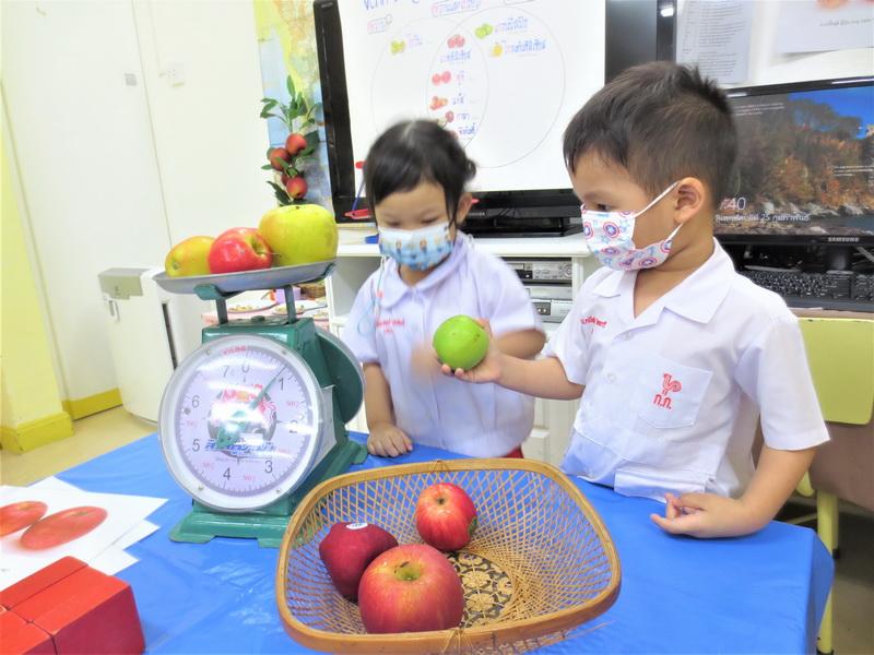 เรื่อง แอปเปิ้ล ระยะที่ 2 สัปดาห์ที่ 3