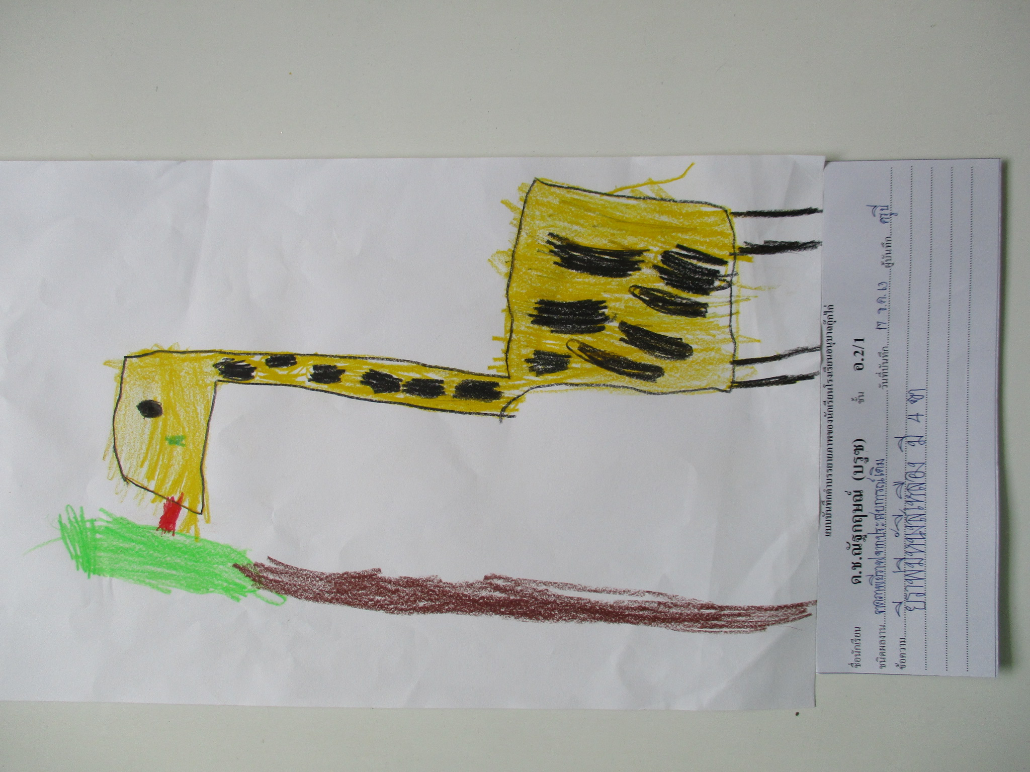 Giraffe, Stage 1 Past Experience